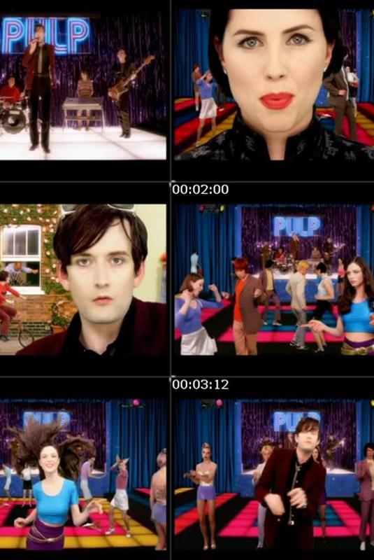 La importancia de la estética en los videos de Pulp