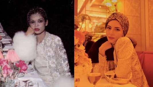 Inspiraciones de moda: Sofia Coppola a lo Bianca Jagger para WSJ, 2017