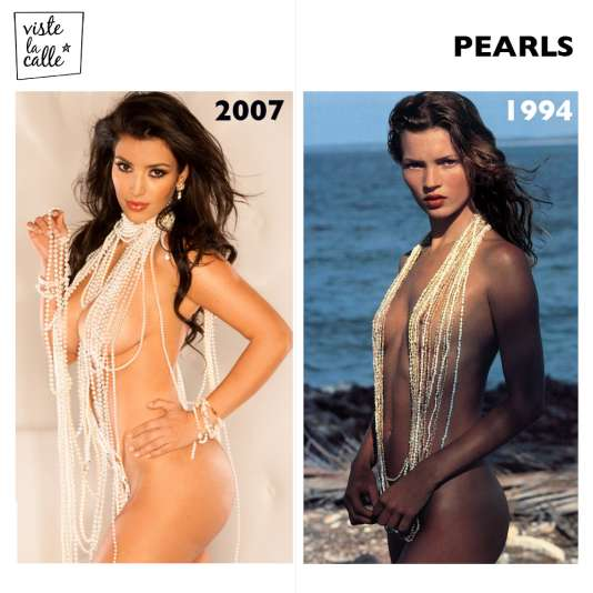 It's not the same but It's the same: Pearls