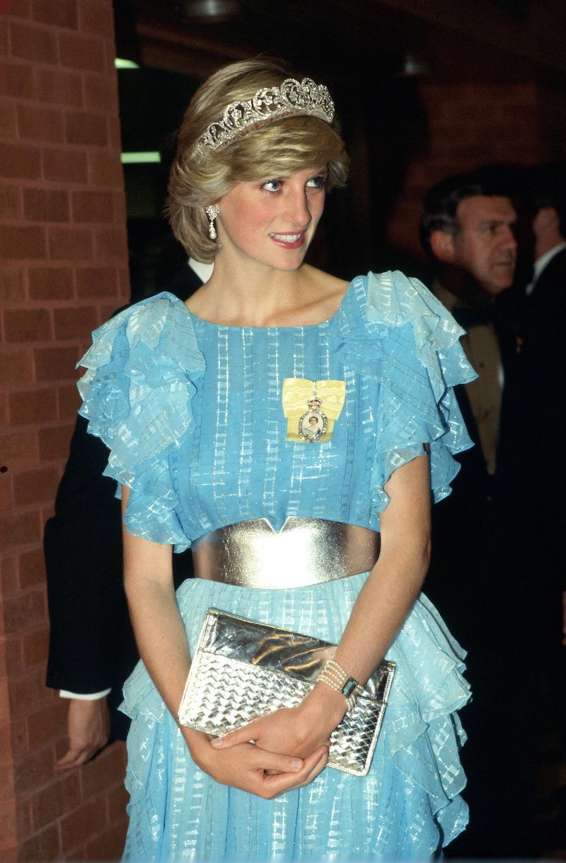 Diana de Gales y sus diseñadores: Bruce Oldfield