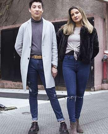 Cristián Senada y Lia Rojas
