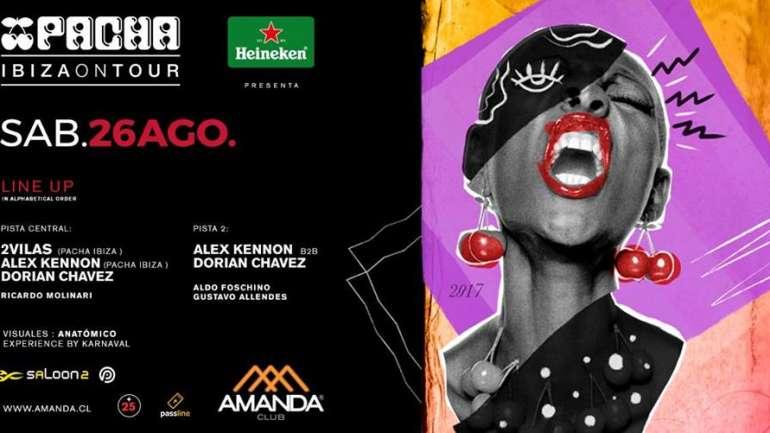 Heineken presenta Pacha Ibiza on Tour Chile este 26 de agosto