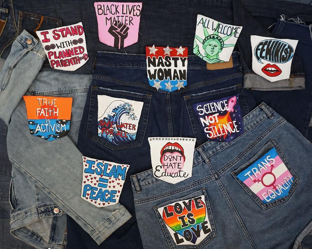 Get Behind Us, la campaña que anima a las mujeres a dejar su opinión en los bolsillos traseros de los jeans