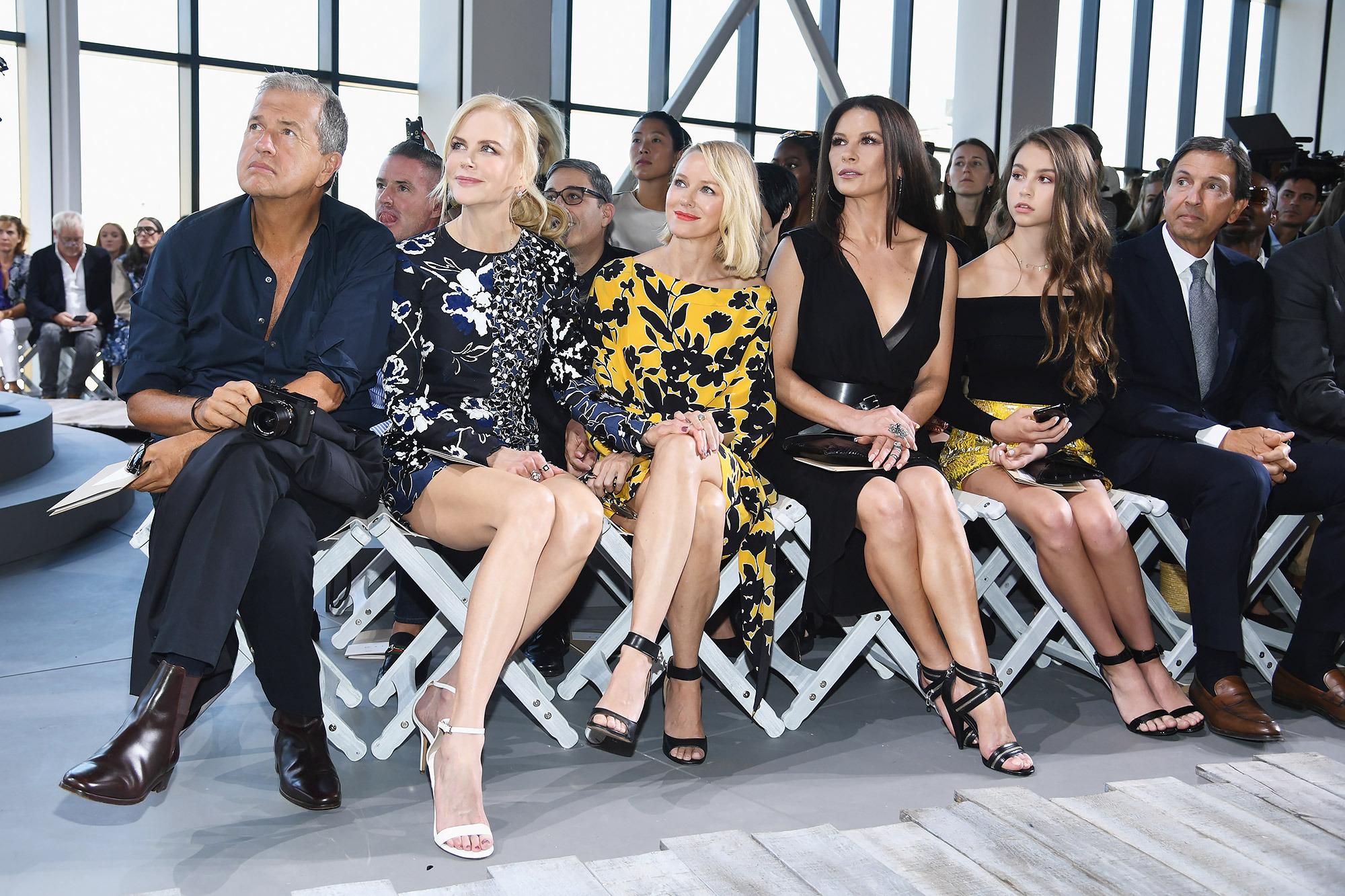 Hijos de famosos en los fashion shows S/S 2018