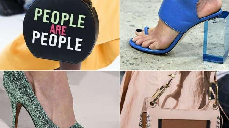 Bolsos y zapatos que proponen las pasarelas de NYFW para el verano 2018