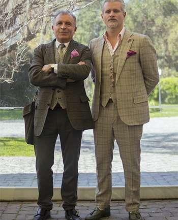 Hernán Garfias y Francesco Galli