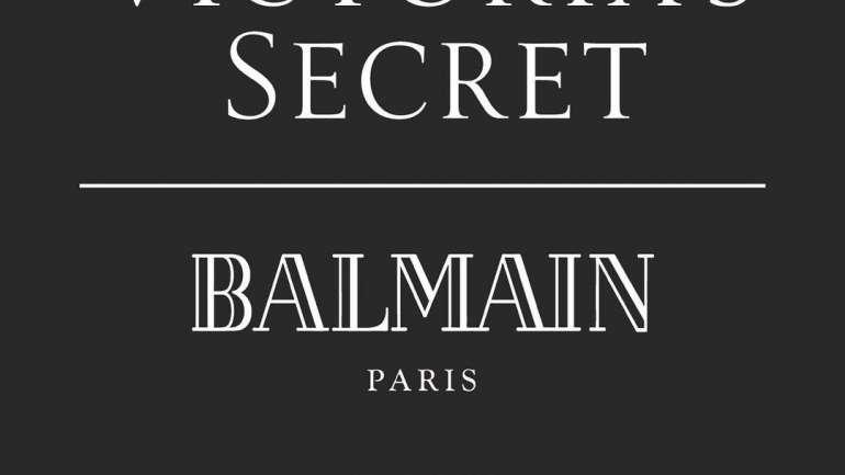 #VSxBalmain, la nueva unión entre Victoria's Secret y Balmain
