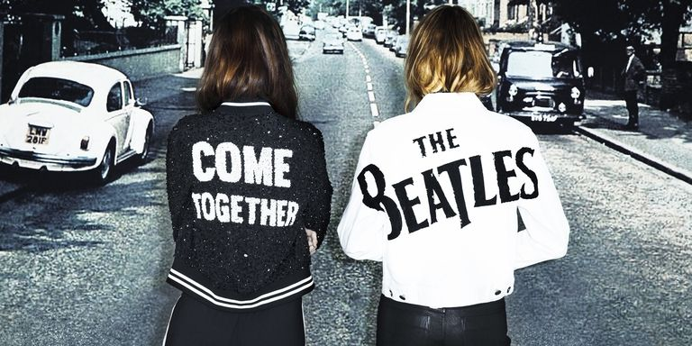 La colección de Alice + Olivia que homenajea a The Beatles