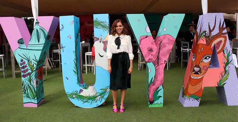 La línea de maquillaje de la youtuber mexicana Yuya