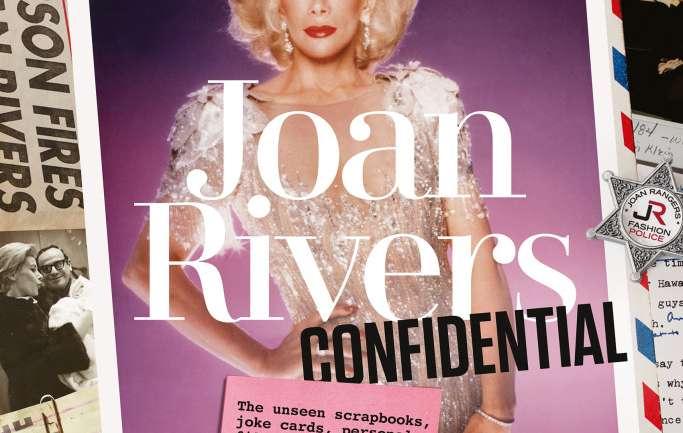 Joan Rivers Confidential, el nuevo libro con imágenes inéditas del ícono