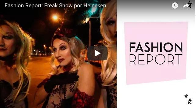 Fashion Report: Freak Show por Macarena Club