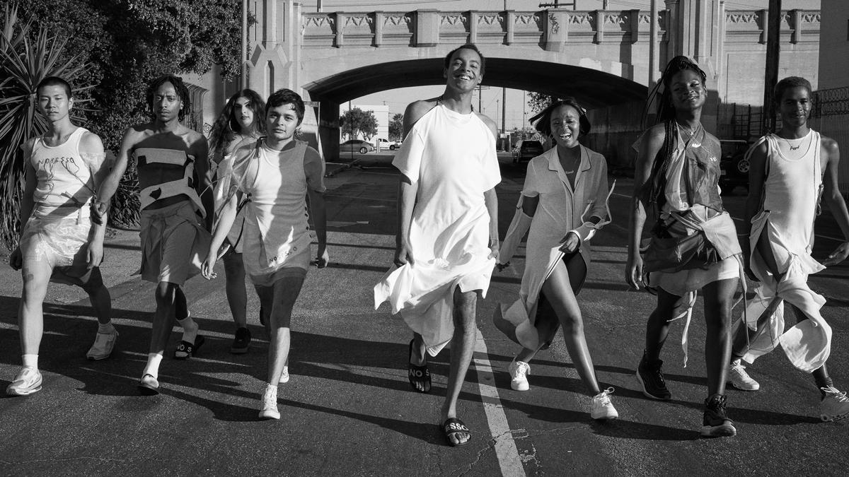 Entrevista al diseñador Pierre Davis de No Sesso, la próxima gran marca de estilo no gender