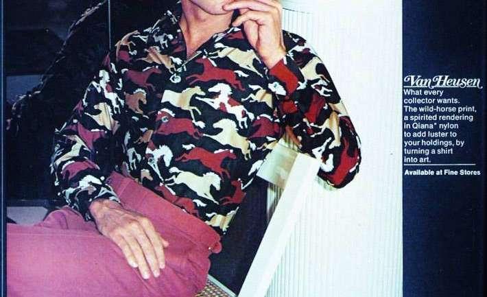 El dandy de los '70 según Chris Von Wangenheim