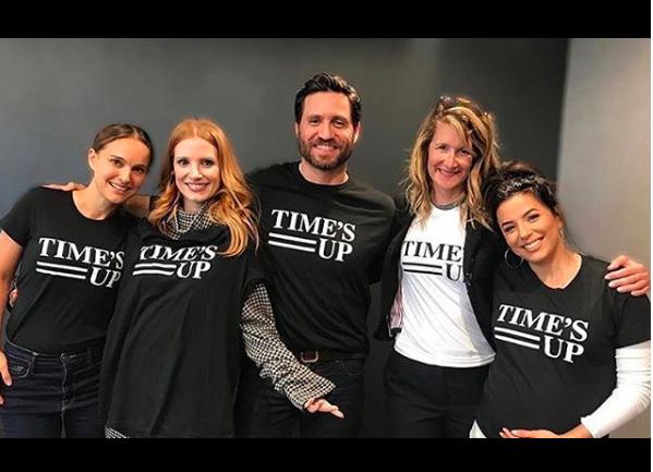 Conozcamos acerca del movimiento Time's Up que estuvo presente en los Golden Globes