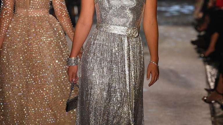 """La realeza desfiló en Dolce & Gabbana """"Secrets & Diamonds"""""""