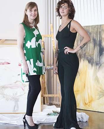 Camila Palacios y Marcela Siri