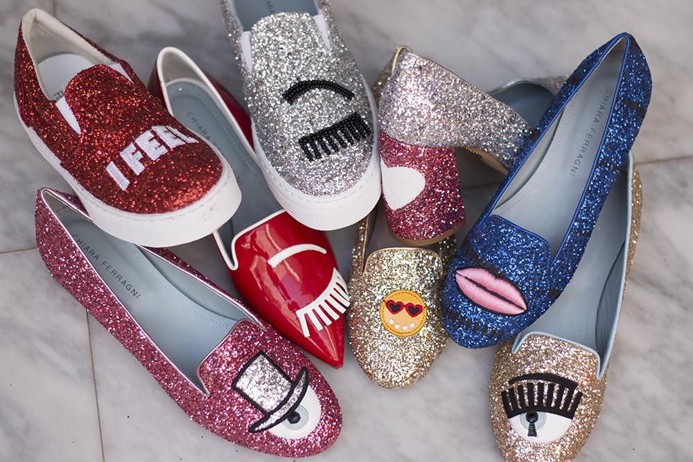 Los zapatos de Chiara Ferragni disponibles en VisteLaCalle