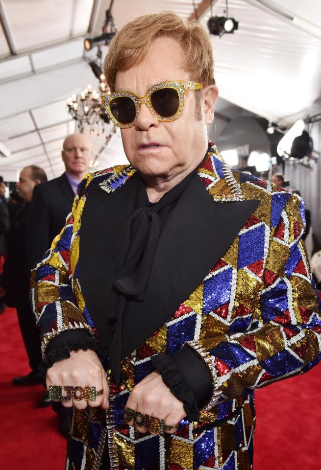 Gucci creará toda los atuendos para la última gira de Elton John