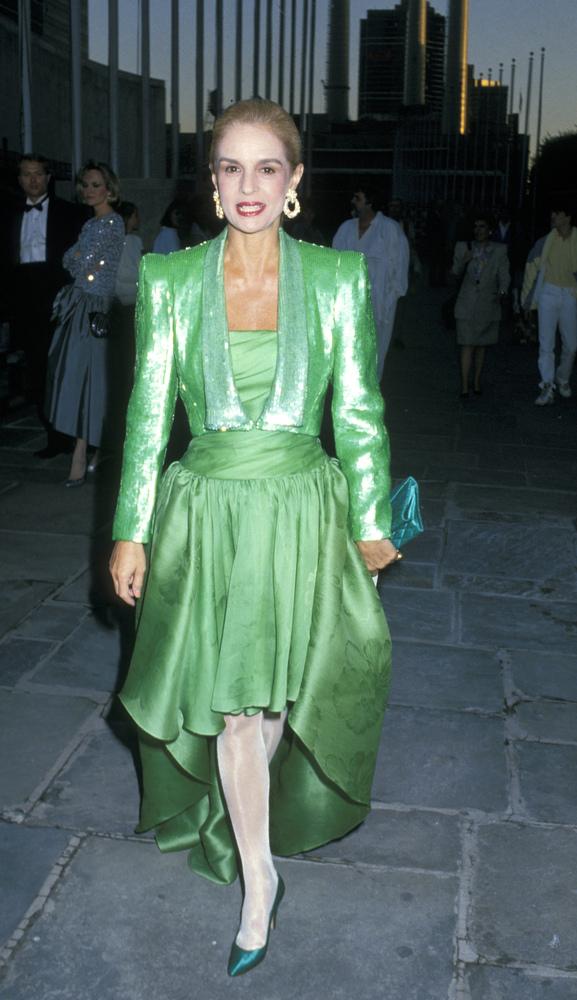Flashback: El estilo de Carolina Herrera en el pasado