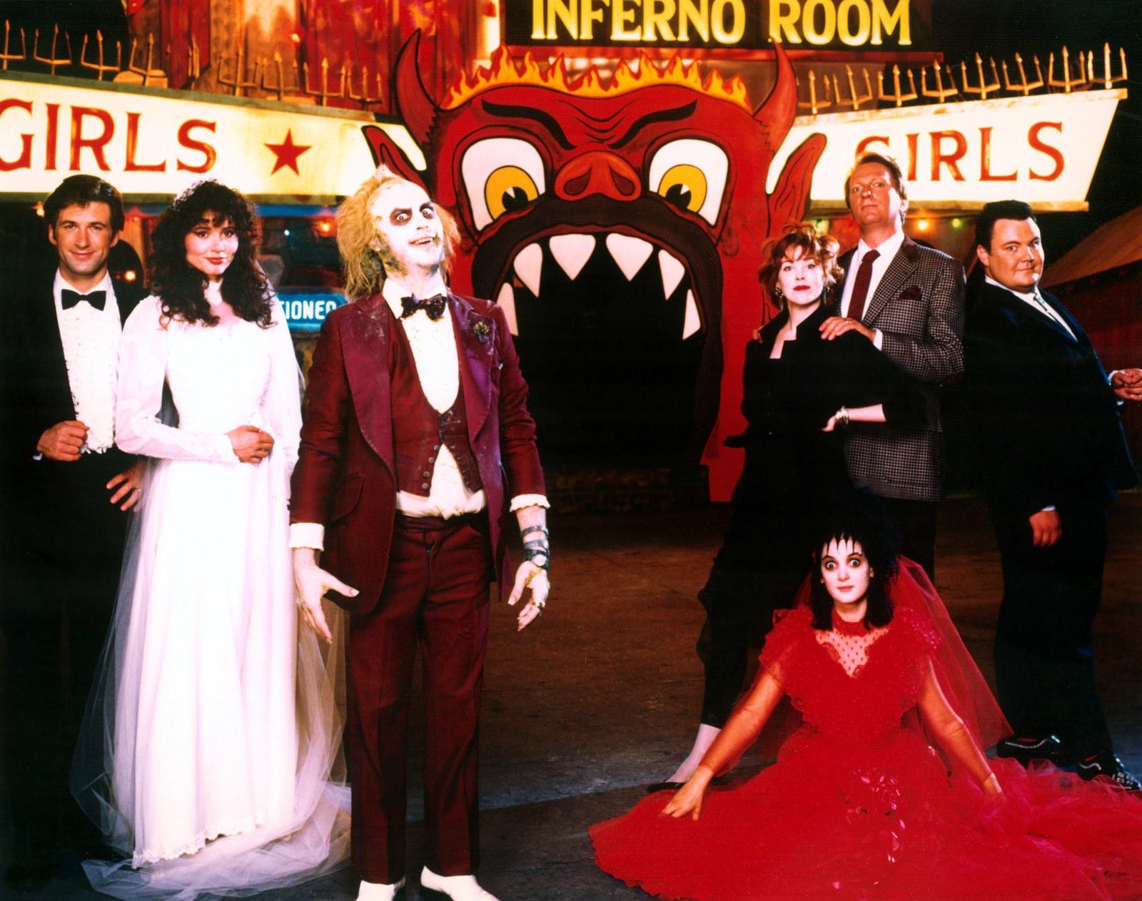 Inspiración de moda: 30 años de Beetlejuice, un clásico de la filmografía de Tim Burton