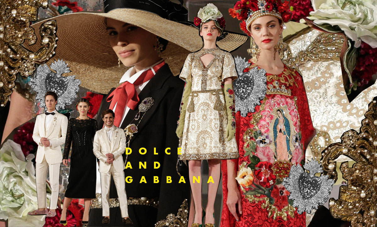El primer desfile de Dolce & Gabbana en México