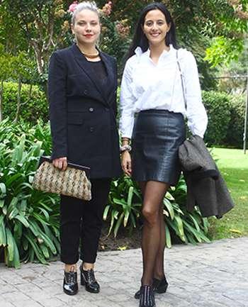 Cristiana Bargetto y María José Raimer
