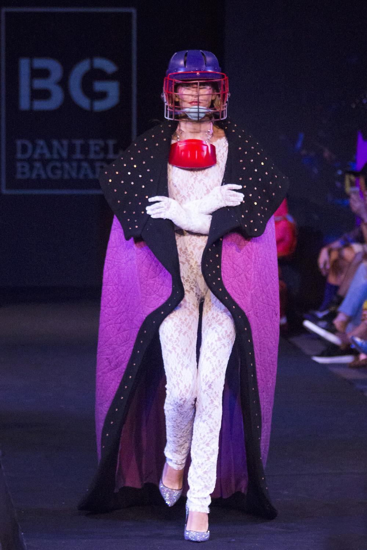 Moda y performance: Daniel Bagnara en Santiago Fashion Week 2018