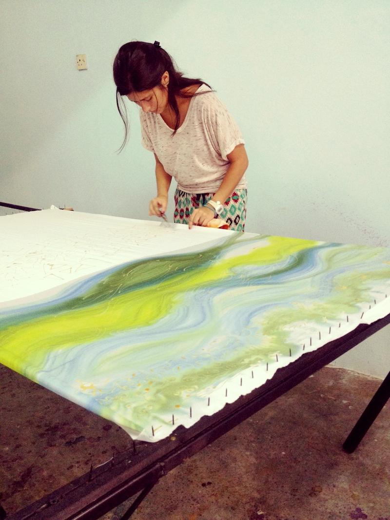 Experiencias de moda en el extranjero: Belén Villavicencio, estudiante textil en Malasia