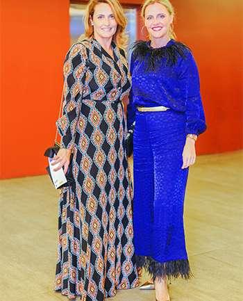 Andrea Insunza y Mariana Gatica
