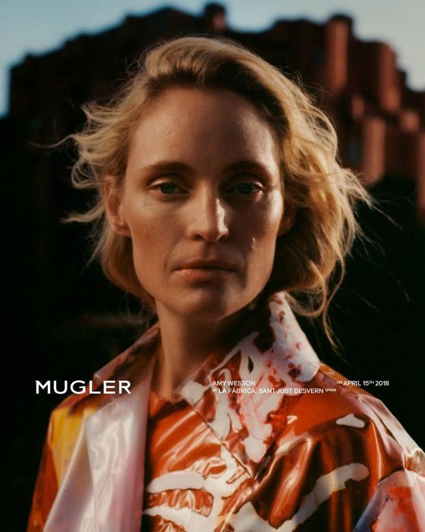El regreso de Amy Wesson con Mugler
