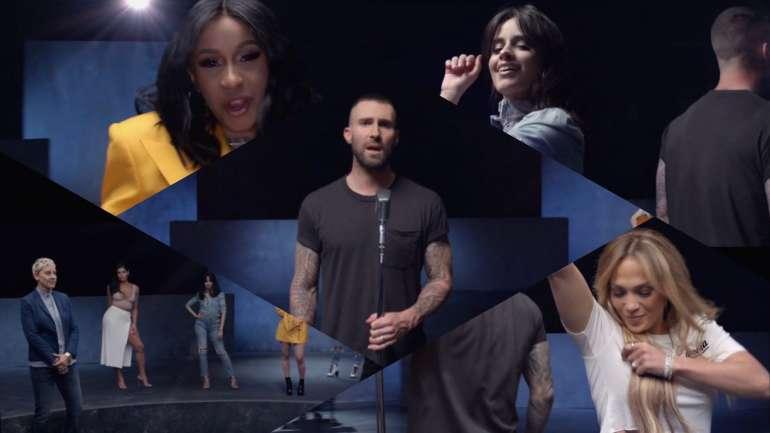 "El video de ""Girls Like You"" de Maroon 5 y Cardi B."