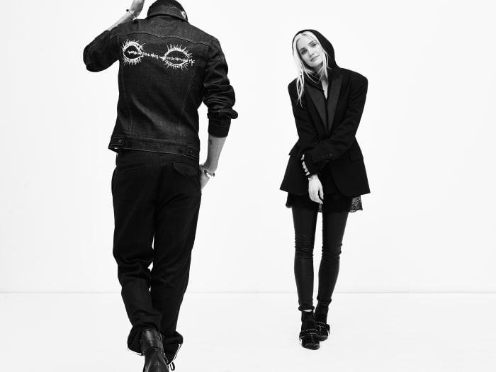 Ashlee Simpson y Evan Ross regresan al mundo de la moda con una línea de ropa unisex