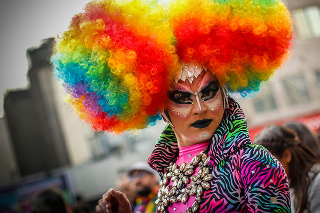 ¿Cómo estuvo la marcha del Orgullo Gay en Santiago?