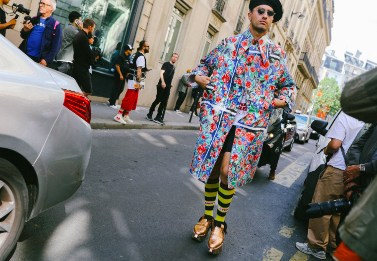 Lo mejor del street style de Paris Fashion Week Men Spring 2019