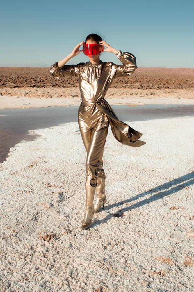 Mission to Mars, una editorial futurista con diseñadores nacionales