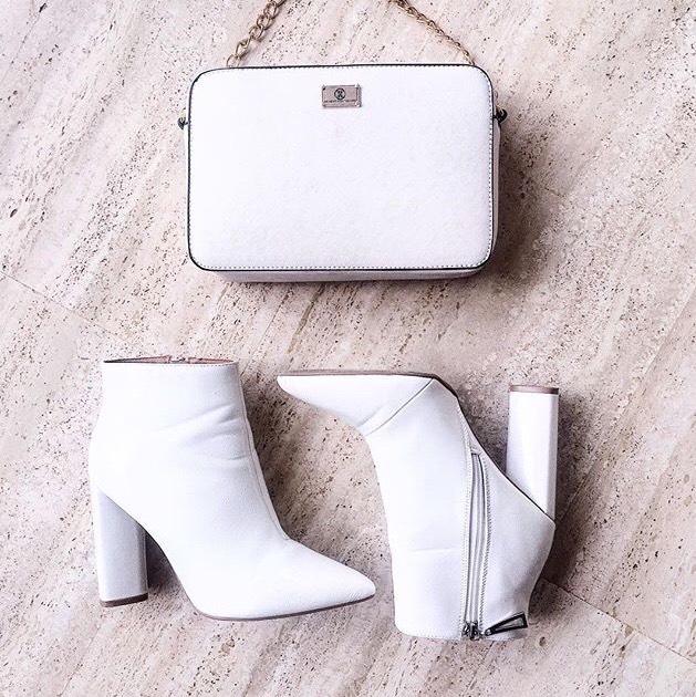 disfruta del mejor precio calidad primero lo mas baratas Looks para inspirarnos a usar botines blancos – Viste la Calle