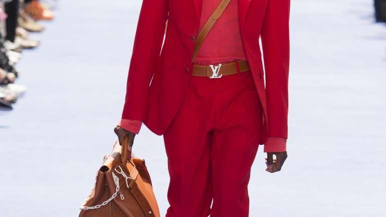 Colores y emoción: Cómo fue el debut de Virgil Abloh en Louis Vuitton
