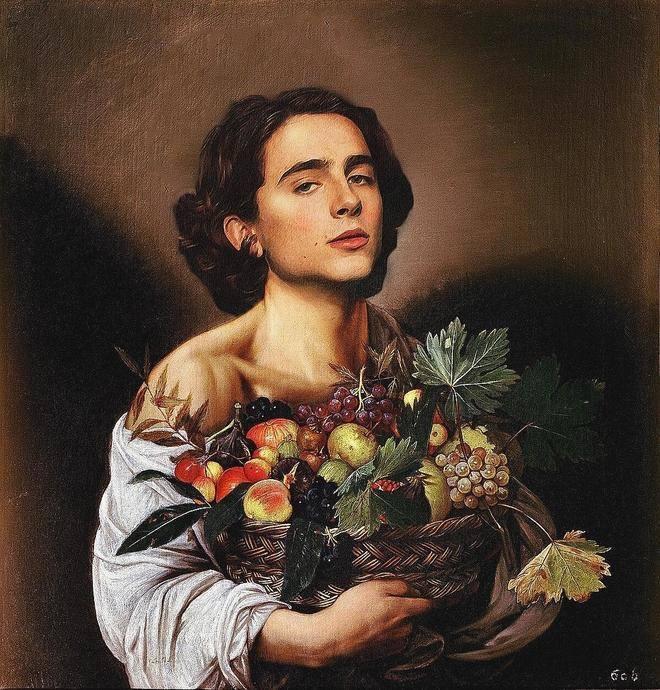 @chalametinart, la cuenta que incluye a Timotheé en famosas pinturas