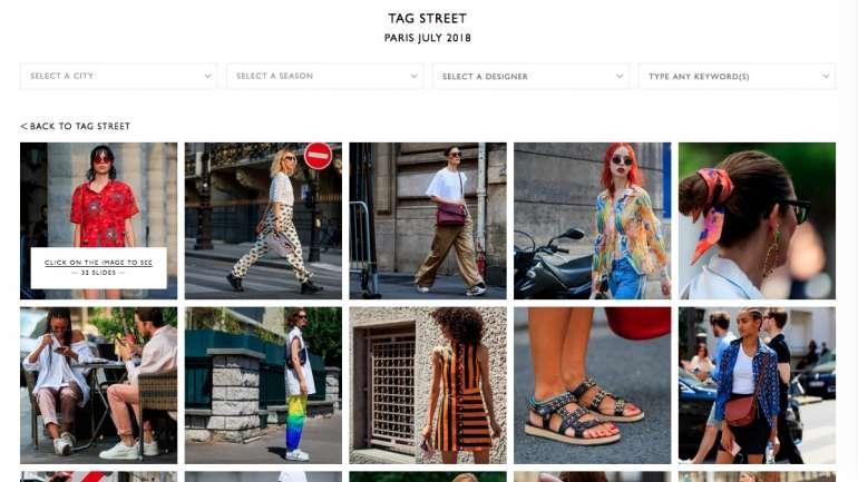 Conozcan a Tagwalk, el Google de las pasarelas de moda