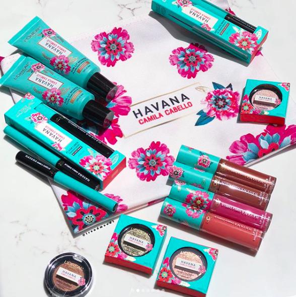 #CamilaXLoreal, la colección de maquillaje inspirada en La Habana de Camila Cabello por L'Oréal Paris