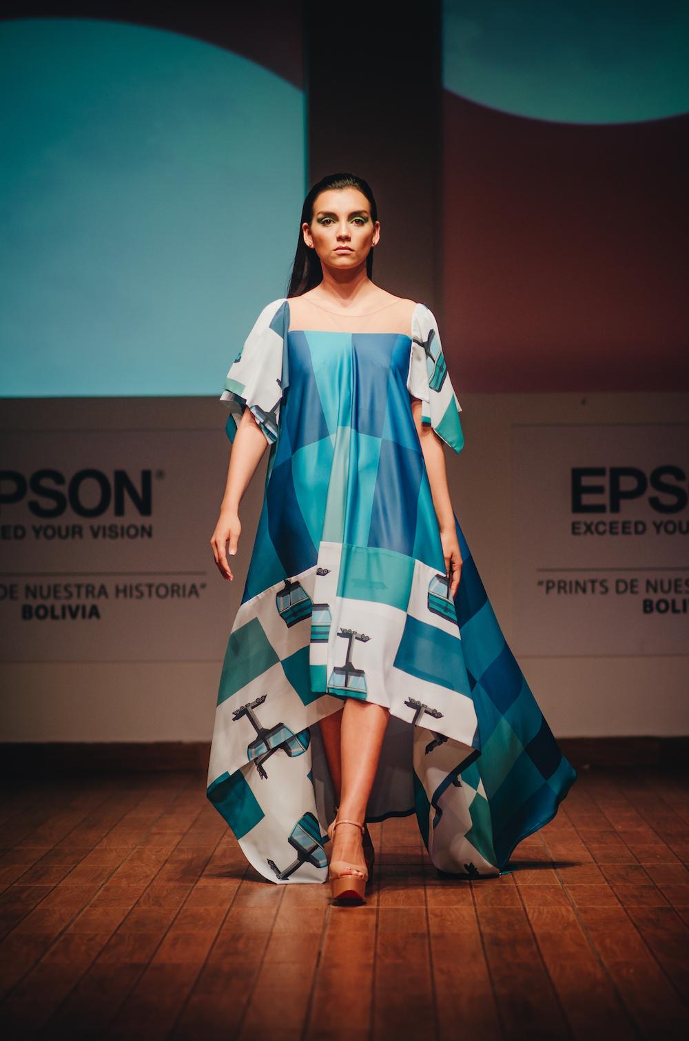 Los ganadores del desfile Epson Bolivia organizado por VisteLaCalle: Luis Daniel y Lors