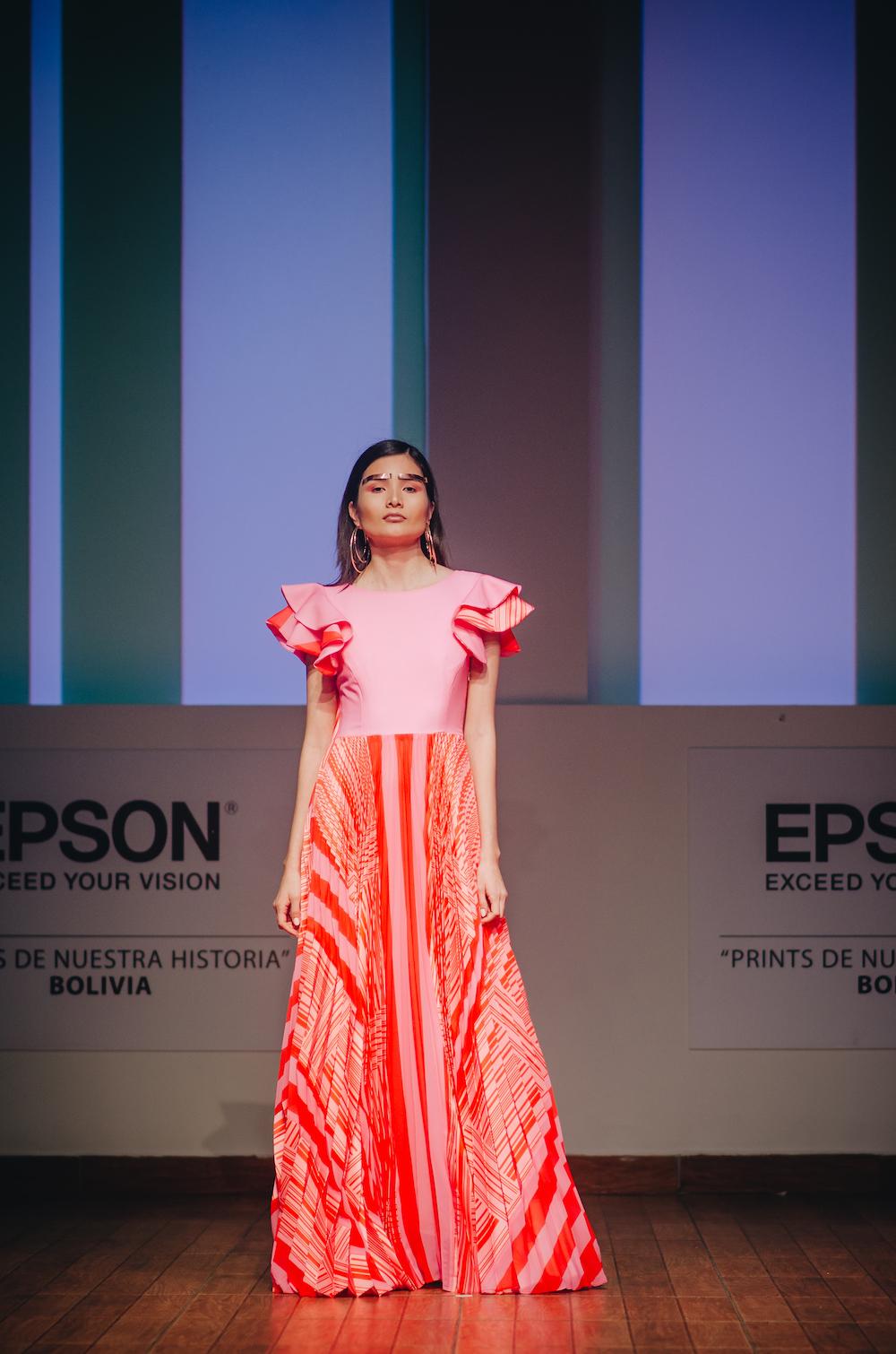 Repasando el desfile Epson Bolivia organizado por VisteLaCalle: Maria Luisina