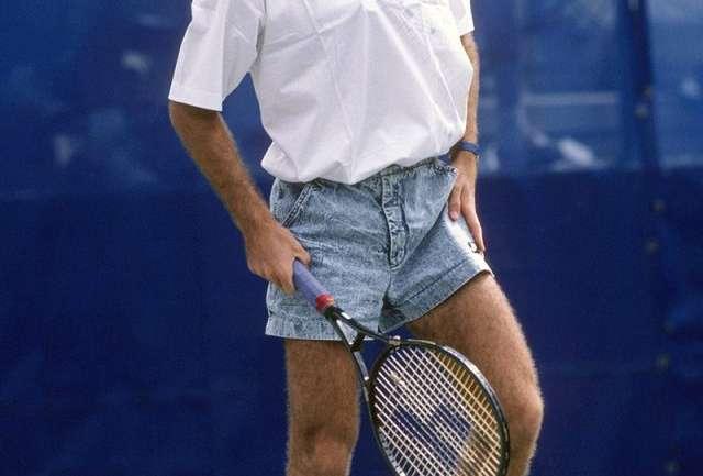 André Agassi, el tenista que desafió los torneos con sus atuendos