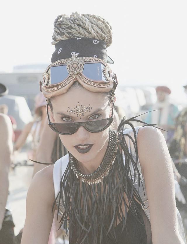 Los looks de Burning Man 2018 (y este año, la reina fue Alessandra Ambrosio)
