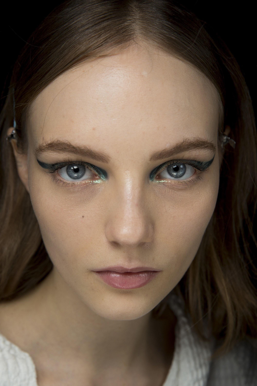 El maquillaje del desfile de Versace en Milan Fashion Week
