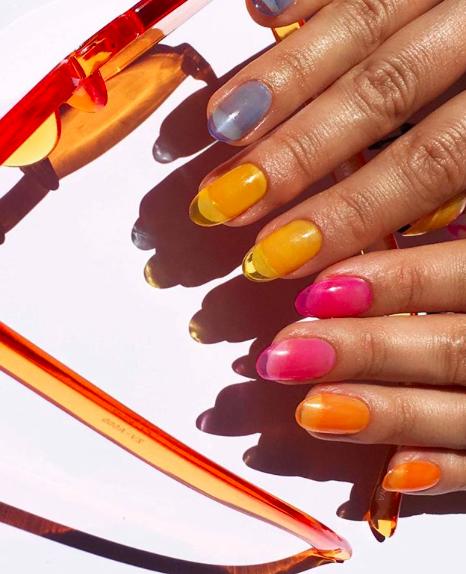Jelly nails, una manicura traslúcida que es viral en Instagram