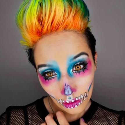Maquillajes de Halloween realizados por beauty bloggers chilenas