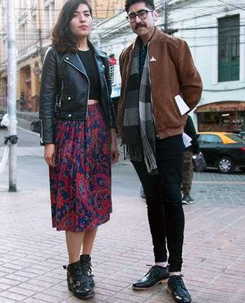 Sofía Morgunovsky y Gonzalo Araya