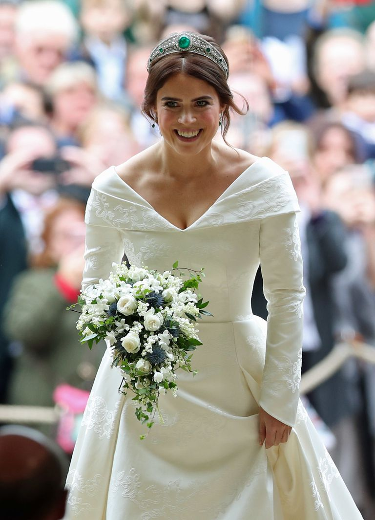 Los looks de la boda de la princesa Eugenia en Inglaterra