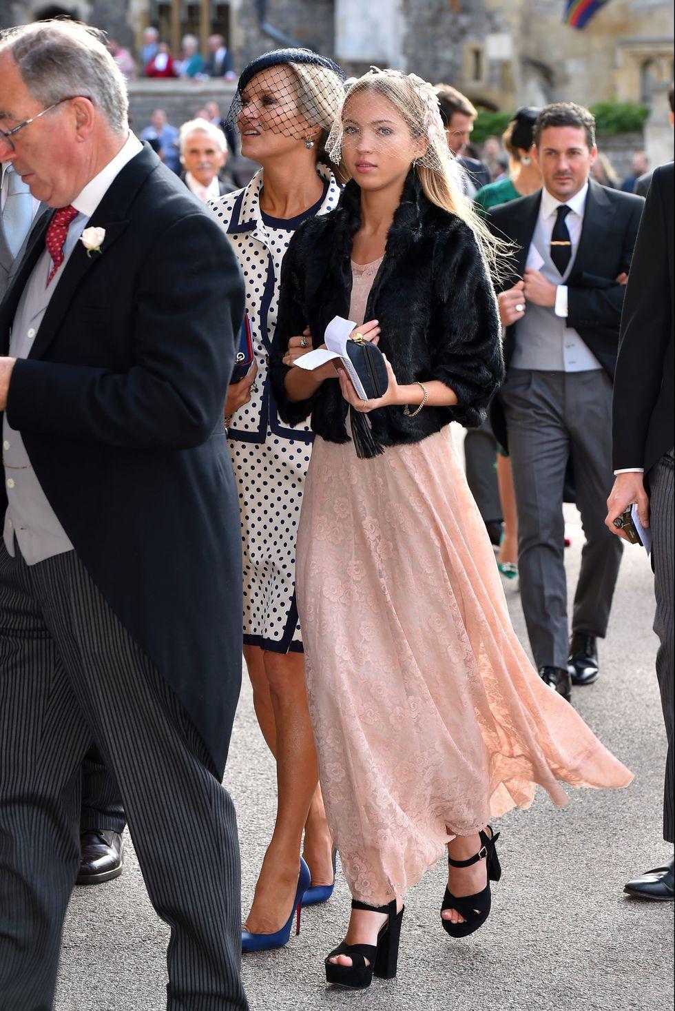 Los looks de la boda de la princesa Eugenia en Inglaterra ...